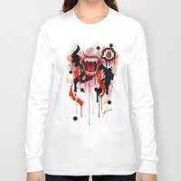 vampire diaries Long Sleeve T-shirts featuring Vampire by Daniel Savoie