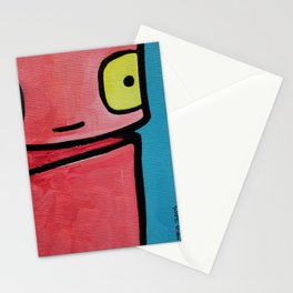 Robot - Sweet To See You Stationery Cards