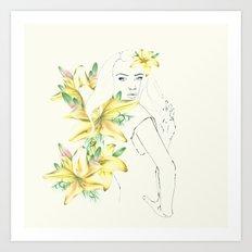 in spring Art Print