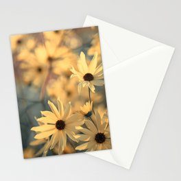 Autumn Botanical Muted Sunflowers Stationery Cards