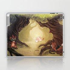 Catching the rabbit Laptop & iPad Skin