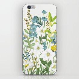 Wildflowers VI iPhone Skin