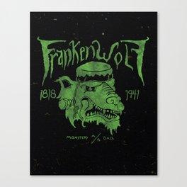 FrankenWolf Canvas Print