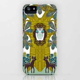 The Horse Chestnut {Day} iPhone Case