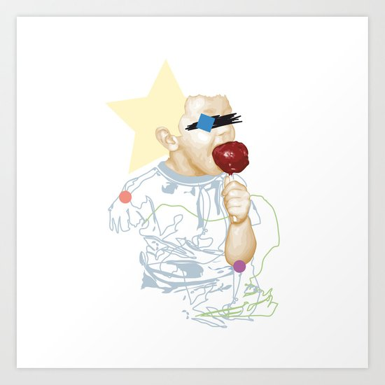 Toffee Apple Art Print