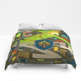 Zelda Art Design Comforters