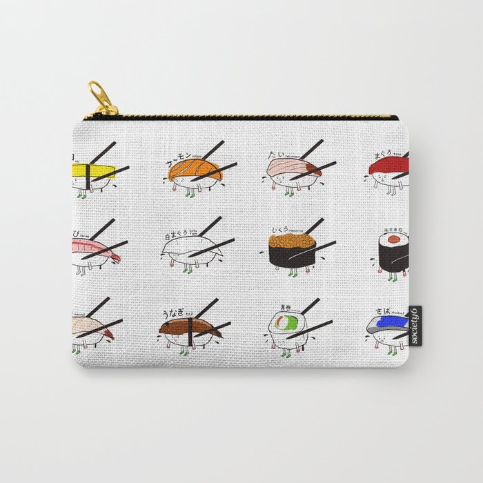 Sushi Platter Carry-All Pouch