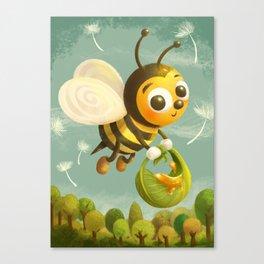 Beezy Bee Canvas Print