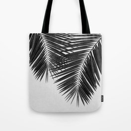 Palm Leaf Black & White II Tote Bag