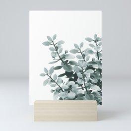 Eucalyptus Leaves Green Vibes #1 #foliage #decor #art #society6 Mini Art Print
