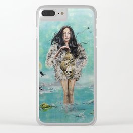 Oh the humanity Clear iPhone Case