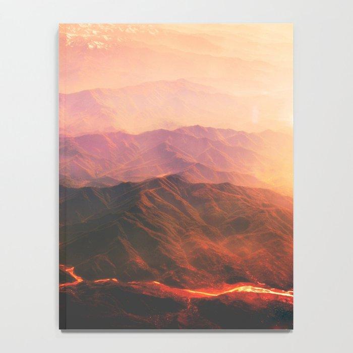 Volcano active Notebook
