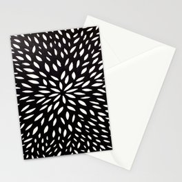 White Floret Stationery Cards