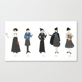 Blue Uniforms 1910-1940 Canvas Print