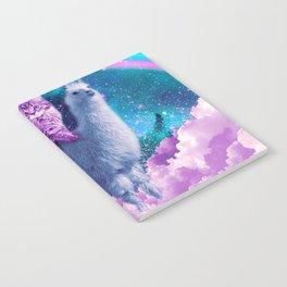 Rainbow Llama - Cat Llama Notebook