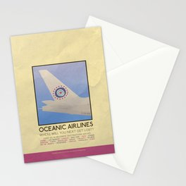 Silver Screen Tourism: OCEANIC AIRLINES / LOST Stationery Cards