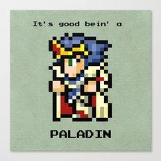 It's Good Bein' A Paladin Canvas Print