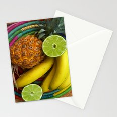 Banana Pineapple Lime Stationery Cards
