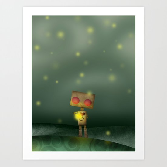 Firefly Sonata Art Print