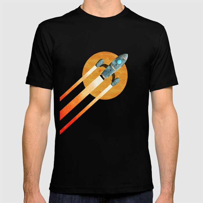 Rocket 2nd Star To The Right LLAP T Shirt By Tjc555 Society6