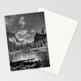 Merced River Under El Capitan, Yosemite Valley, October 2010 Stationery Cards