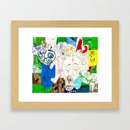 Collage 17 Framed Art Print