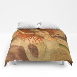 Green Moss Kingdom Comforters