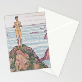View Into Infinity by Ferdinand Hodler Stationery Cards