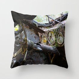 Broken Dash Throw Pillow