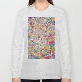 Austin Texas City Map Long Sleeve T-shirt