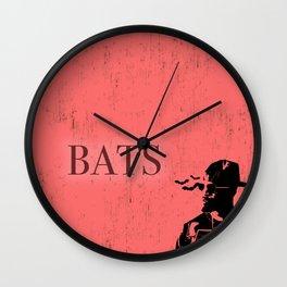 Baby Driver (Bats) Wall Clock