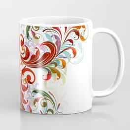 Abstract Floral 13 Coffee Mug