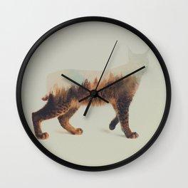 Norwegian Woods: The Lynx Wall Clock