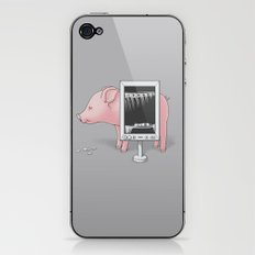 Saving money iPhone & iPod Skin