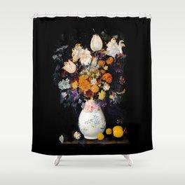 Blompotje Shower Curtain
