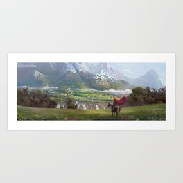 EPic vista  Art Print
