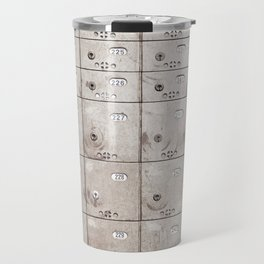 Chests with numbers Travel Mug