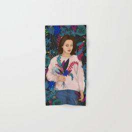 Lana in the jungle Hand & Bath Towel