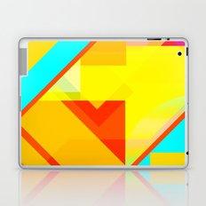 bipolar yellow Laptop & iPad Skin