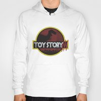 toy story Hoodies featuring toy story / jurassic park by tshirtsz