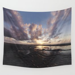 Sunrise Over the Beach 2 Wall Tapestry