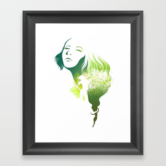 The Summer Framed Art Print