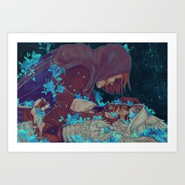 Leliana/Warden Art Print