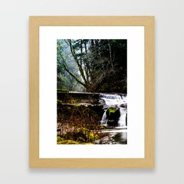 Dungeons Deep and Caverns Old Framed Art Print