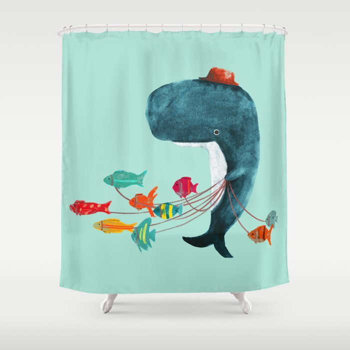 My Pet Fish Shower Curtain by budikwan | Society6