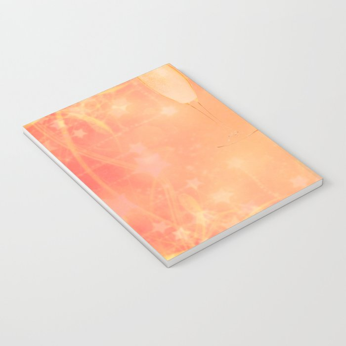 Pink Champagne Notebook