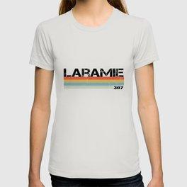 Laramie, Wyoming Area Code 307  T-shirt