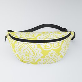 Yellow Damask Fanny Pack