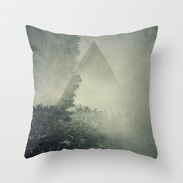 Hidden on the Hill Throw Pillow
