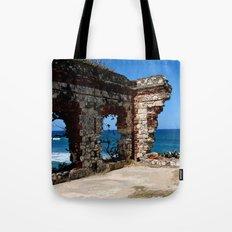 Aguadilla Ruins Tote Bag